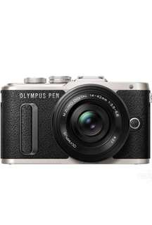 Olympus E-PL8 with emolux wide eye converter lens