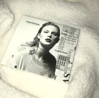 TAYLOR SWIFT REPUTATION CD *BRAND NEW*