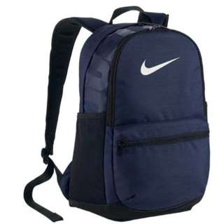 Nike brasilia backpack navy blue