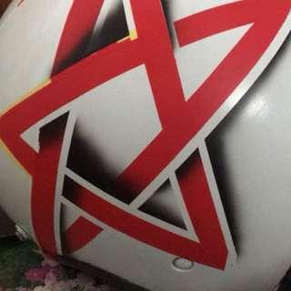 Airbrush helmet/repaint