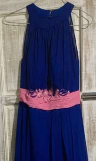 Long Gown (Royal Blue)