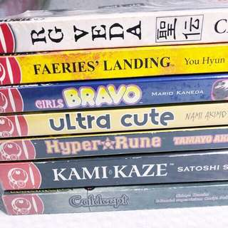 💜 Assorted Manga Books Set A