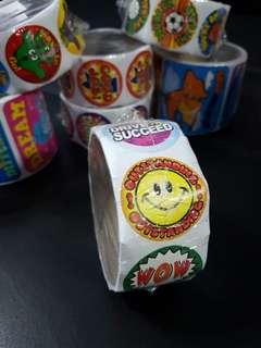 [INSTOCK] BN Roll of Encouragement Reward/Merit Stickers (Oriental Trading)