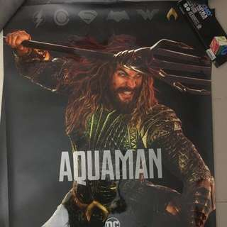 Justice League poser (AquaMan) LIMITED !!!