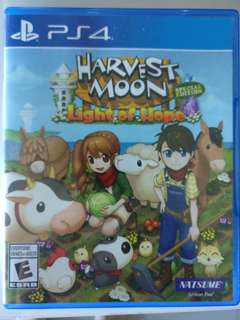 PS4 牧場物語 Harvest Moon (Light of Hope) Special Ed