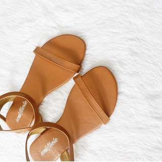 Flat Sandals for OOTD (Nude)