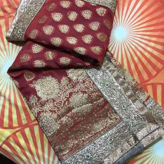 Saree - Indian Ethnic Wear, Lovely Colour