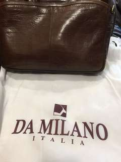 Branded bag Da Milano Italia  leather office laptop bag