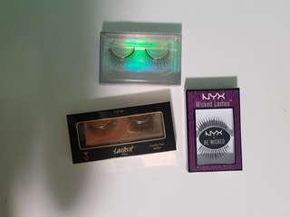 False Eyelashes sale! Tarte, NYX
