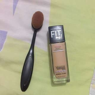 Foundation Fit me shade 210