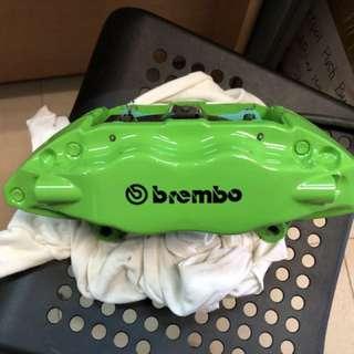 STI Subaru Brembo 4pot brake caliper