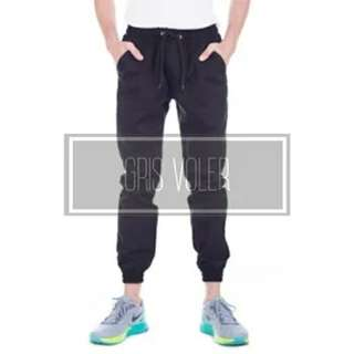 Jogger Gris Voller Cotton Twill Size 34
