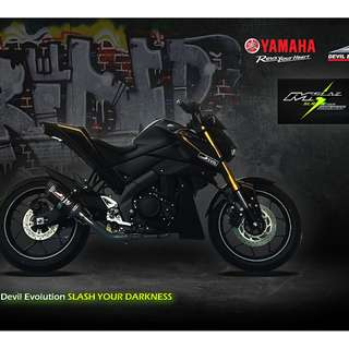 Devil Exhaust Systems Singapore Yamaha MT-15 M-Slaz Xabre ! Ready Stock ! Promo ! Do Not PM ! Kindly Call Us ! Kindly Follow Us !  Kindly Join Us As Members To Enjoy More Goodies !