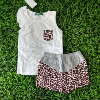 Girl set Leopard Annika