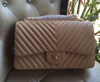 Chanel quilted chevron