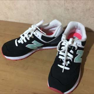 🚚 balance球鞋 韓妞款休閒鞋 糖果配色 25號🍬近全新