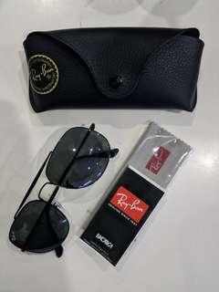 Ray Ban General Black Polarized Lenses