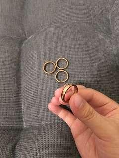 🚚 玫瑰金戒指#一百元好物