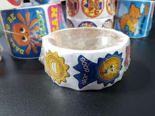 [INSTOCK] BN Roll of Ribbon Award Motivational Stickers (Oriental Trading)