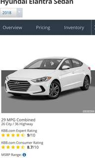 Hyundai Elantra 1.6 Auto GL