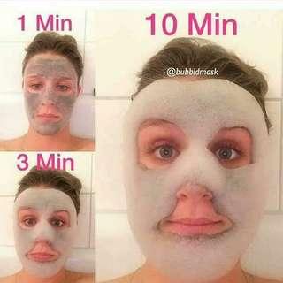 Oxygen Rejuvenating bubble Mask