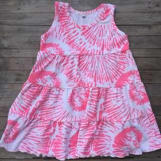 3 Layer dress tie dye style