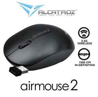 BNIB Alcatroz Airmouse 2