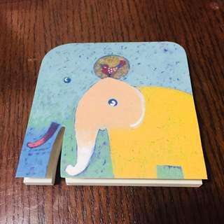 🇹🇭購自泰國 大象小象memo pad