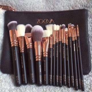 15 pieces Zoeva Brush Set