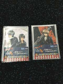 Ichiban kuji gintama banpresto photo cards postcards clearance sale