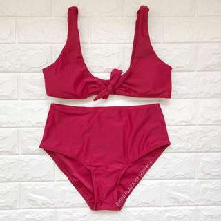 Available onhand Maroon Ribbon Tie Hw Teo Piece