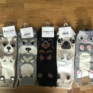Cute Korean Animal Long Socks