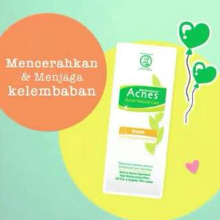 Acnes cream oil control & whitening 40gr