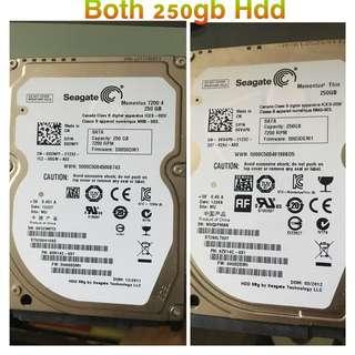 Seagate HDD Good Conditon 250GB