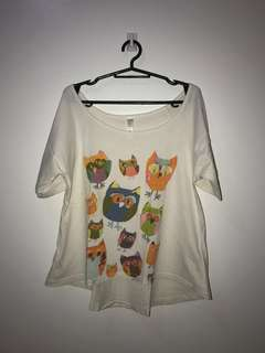 Long Back Blouse (Owl)