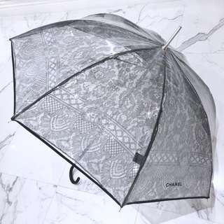 Chanel Lace Umbrella (plastic on top)