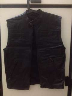Vest full leather