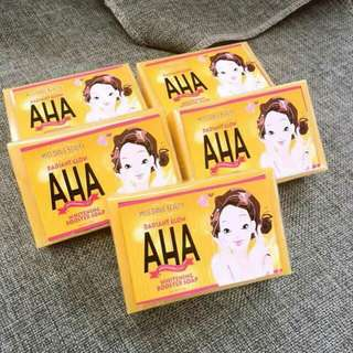AHA WHITENING BODY SOAP