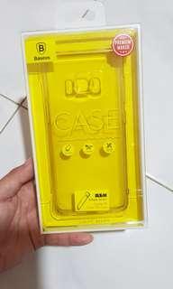 Baseus Premium Transparan case samsung S8 Jelly TPU case