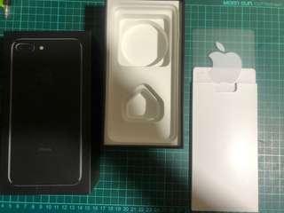 Apple IPhone 7 Plus 256GB 亮黑 吉盒