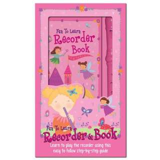 Brand New Fun to Learn Recorder and Book Pink