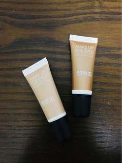 Make Up For Ever Aqua XL Eyeshadow Base Set of 2!