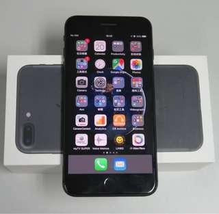 iPhone7s plus 黑色matt black 128gb