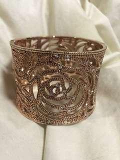 Rose rosegold bangle