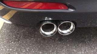 BMW M Dual Chrome exhaust tips