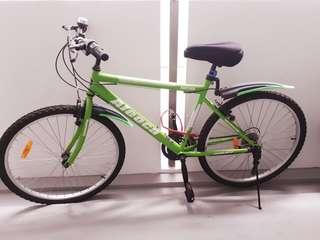 Aleoca bike with gear