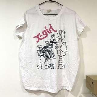 🚚 芝麻街美語T shirt #舊愛換新歡 #100元好物