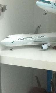 Brand new Cathay Pacific b747-400F 1:200