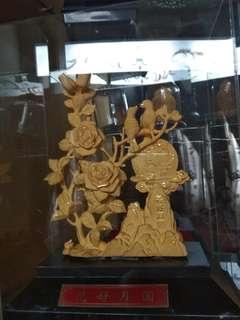 Pajangan lapis gold #mausupreme