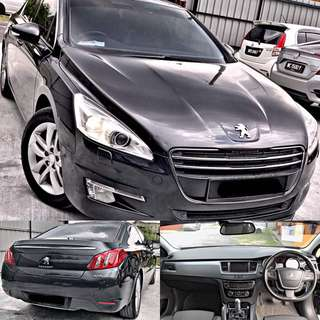 SAMBUNG BAYAR / CONTINUE LOAN  PEUGEOT 508 1.6 TURBO AUTO FULLSPEC PADLE SHIFT